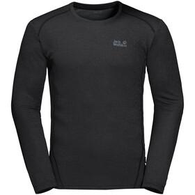 Jack Wolfskin Sky Range T-shirt à manches longues Homme, black